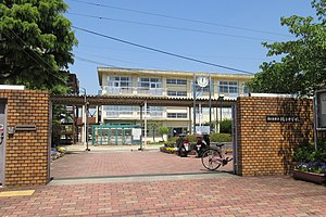 Higashiosaka City Nawate junior high school.jpg