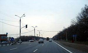 "M4 highway (Russia) - Highway ""Don"" in the south-east of Voronezh"
