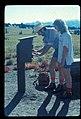Hikers signing trail registration. Probably Sunrise. slide (e3c8b6bb46f843f68dd1f8c7956c38bd).jpg