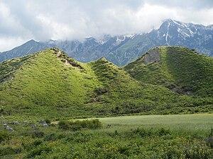 Labëria - Hill formations in Hore-Vranisht