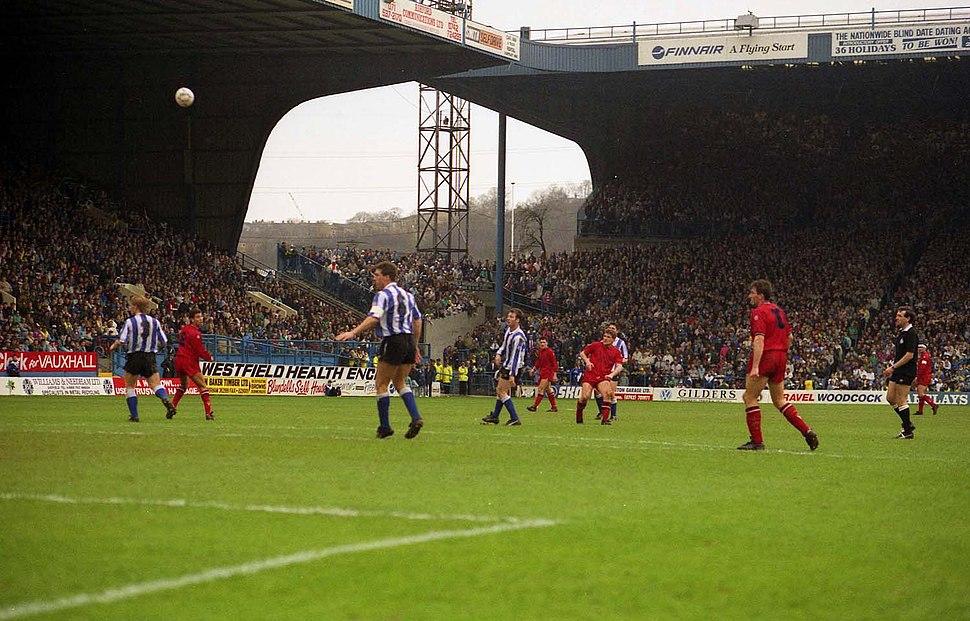 Hillsborough Stadium in 1991 - geograph.org.uk - 2807213
