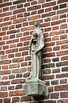 hilvarenbeek - vrijthof 28 - st. petrus-bandenkerk - mariabeeld