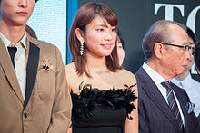 "Hisamatsu Ikumi ""Sakura no Ame"" at Opening Ceremony of the 28th Tokyo International Film Festival (22239981490).jpg"