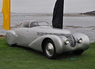 One-off luxury car manufactured by Spanish automobile manufacturer Hispano-Suiza