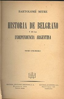 book by Bartolomé Mitre