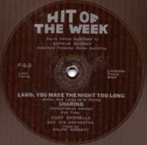 1932 in music - Image: Hit Of The Week Label