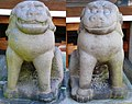 Hizen Komainu at Yasaka Shrine Hasuike Saga.jpeg