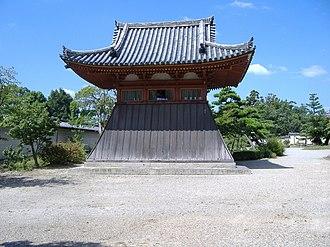Hokke-ji - The bell tower