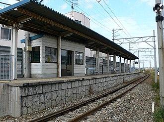 Kagatsume Station - Kagatsume Station in November 2005