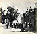 Holy Trinity Church and russian pilgrims in Elizabeth compaund.jpg