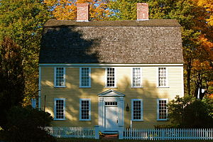 Boxford, Massachusetts - The Holyoke-French House (c. 1760) in East Boxford Village