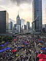 Hong Kong's Umbrella Revolution -umbrellarevolution -UmbrellaMovement (15387102706).jpg