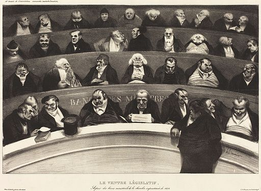 Honoré Daumier - Le Ventre Législatif (The Legislative Belly) - Google Art Project