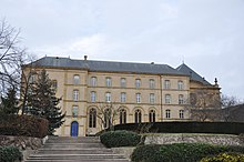 Seat of the regional council of Grand Est in Metz