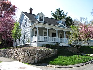 House at 95 Chestnut Street - Image: House at 95 Chestnut Street, Wakefield MA