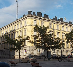 Finnish Security Intelligence Service - The headquarters of the Finnish Security Intelligence Service in Punavuori, Helsinki.