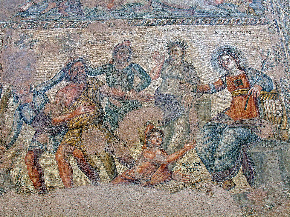 Houses of Dionysos Mosaic, Paphos