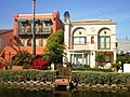 Houses on Grand Canal, Venice Canal Historic District, Venice, California.JPG
