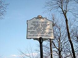 Hoye-Crest Historical Marker.jpg