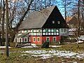 Hrázděná usedlost čp. 207 v Krásném Lese (Petrovice), 12-2012.jpg