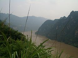 On the Yangtze River in Yiling District west of Yichang