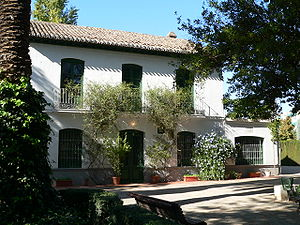 Federico García Lorca - Huerta de San Vicente, summer home of Lorca's family in Granada, Spain, now a museum