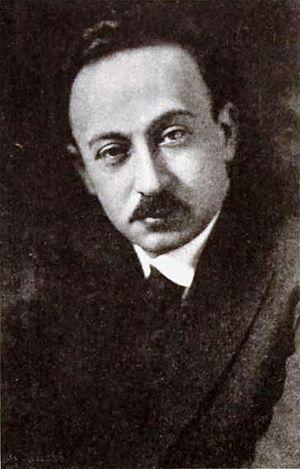 Hugo Riesenfeld - Image: Hugo Riesenfeld May 1920 EH