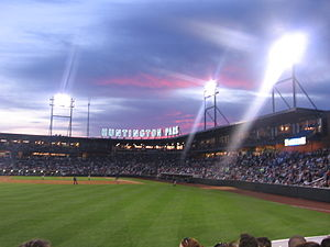 Huntington Park (Columbus, Ohio) - Image: Huntington Park from left field