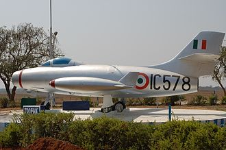 Dassault Ouragan - Ouragan at the Indian Air Force Academy Museum