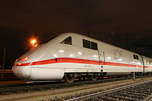 ICE 1 - ICE 1 power car at Nuremberg