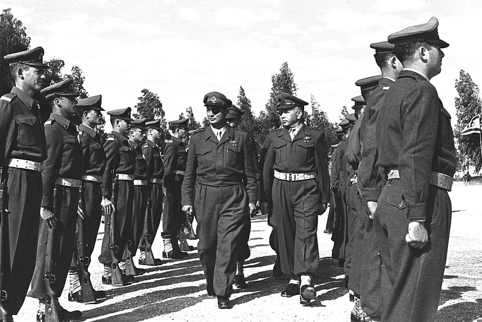 IDF Officers Course 1955