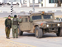 IDF soldier at Qalqilya checkpoint.jpg