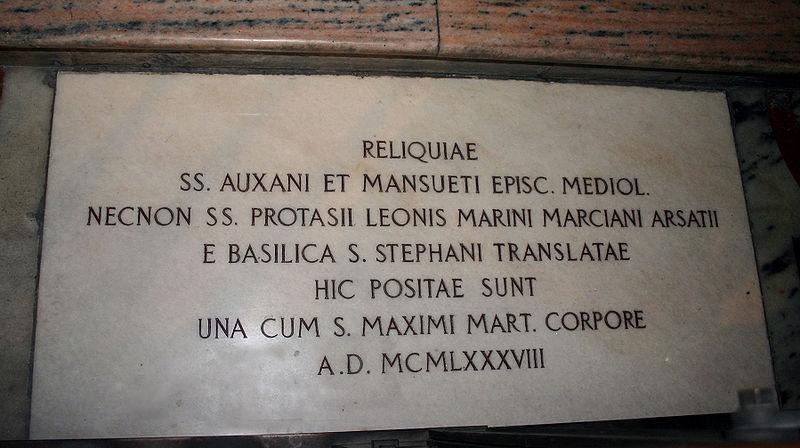 File:IMG 5889 - Milano - Duomo - Reliquie traslate da S. Stefano - 1988 - Foto Giovanni Dall'Ort - 21-Feb-2007.jpg