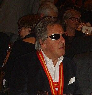 Gilbert Montagné - Gilbert Montagné during the Saint-Vincent Tournante banquet held at Chateau du Clos Vougeot (2011)