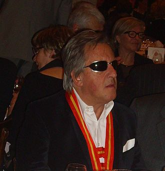 Gilbert Montagné - Gilbert Montagné during the Saint-Vincent Tournante banquet held at Chateau du Clos Vougeot (2011)