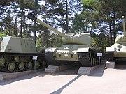 IS-2 model 1943 at the Museum on Sapun Mountain Sevastopol 2