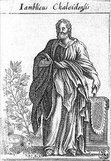 Iamblichus Syrian philosopher