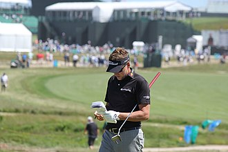 Ian Poulter - Poulter at the 2018 U.S. Open