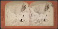 Ice mountains in front of Cave of the Winds, 1875, Niagara, by Barker, George, 1844-1894.png
