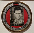 Identity badge for Walter L. Wilson, Naval Torpedo Station, 1941 - The Lyceum - Alexandria, Virginia - DSC03477.JPG