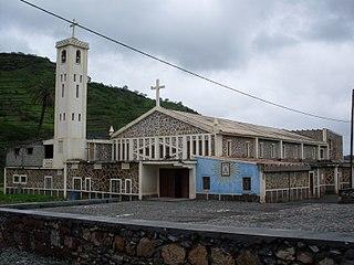 João Teves Settlement in Santiago, Cape Verde