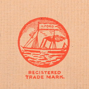 Ilford Photo - Logo of Ilford Ltd. from 1930s