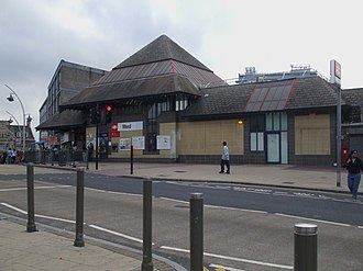 London Borough of Redbridge - Image: Ilford station building 2