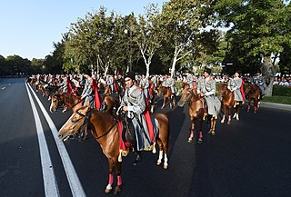 Military parades in Azerbaijan