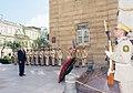 Ilham Aliyev visited the monument in honor of Azerbaijan Democratic Republic 7.jpg
