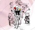 Illustration Ouest-France Bernard Hinault 2008.jpg