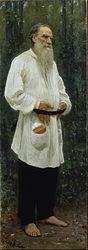 Ilya Repin: Leo Tolstoy Barefoot