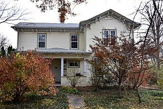 Samuel J. Kirkwood - The 1864 Kirkwood House in Iowa City.
