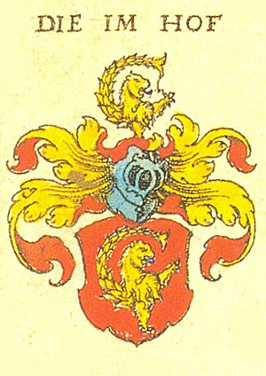 Imhoff family - The Imhoff coat of arms