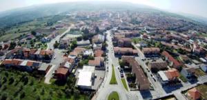 Usini - Image: Immagine di Usini vista dall'alto 2014
